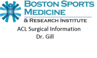 ACL Surgical Information for Patients